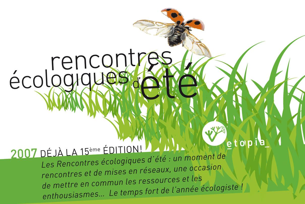 Rencontres ecologiques